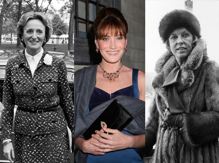 Фото №1 - Первые леди Франции: от Ивонны де Голль до Карлы Бруни-Саркози