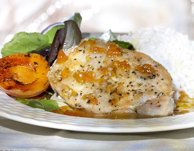 Курица с ананасами рецепт фото