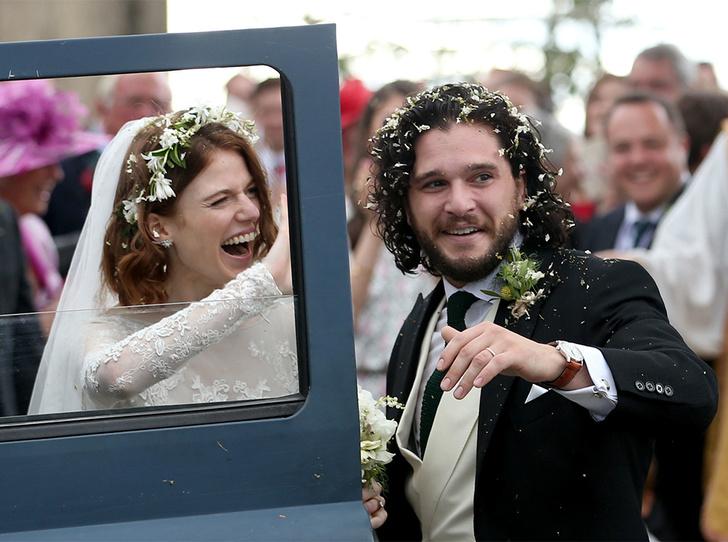 Фото №17 - Свадьба звезд «Игры престолов» Кита Харингтона и Роуз Лесли