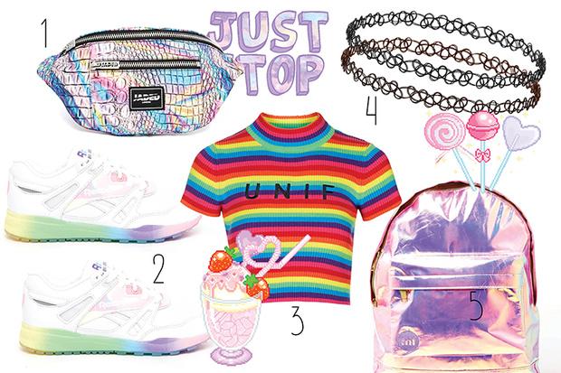 Фото №1 - Топ-10: Вещи в стиле Tumblr girl