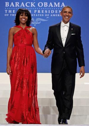 Фото №23 - Королевы Белого дома: самые роскошные инаугурационные платья Первых леди
