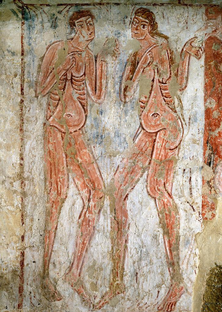 Фото №6 - Галерея: как изображали Адама и Еву последние  2000 лет