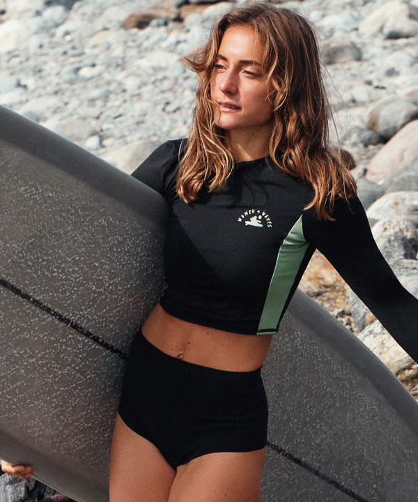 H&M выпустили коллекцию купальников с женским серф-сообществом Women + Waves