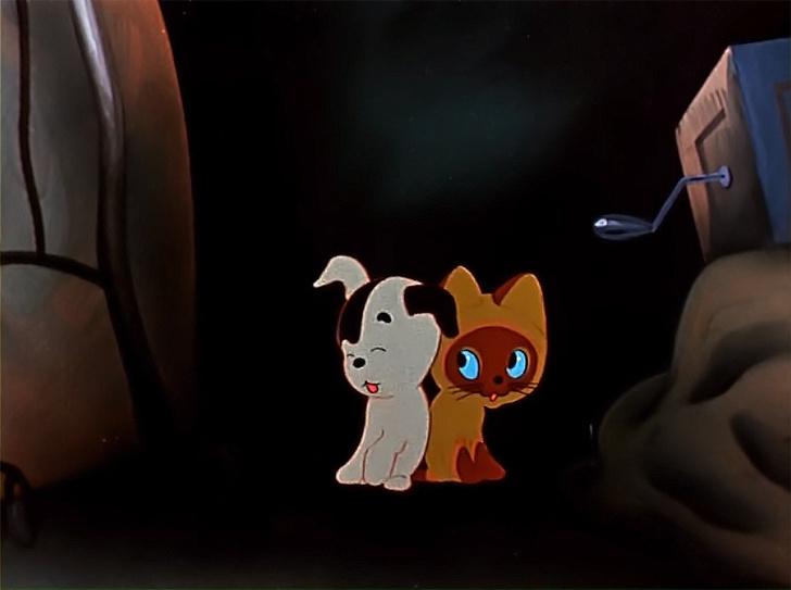 Фото №2 - 10 лучших советских мультфильмов про кошек и собак