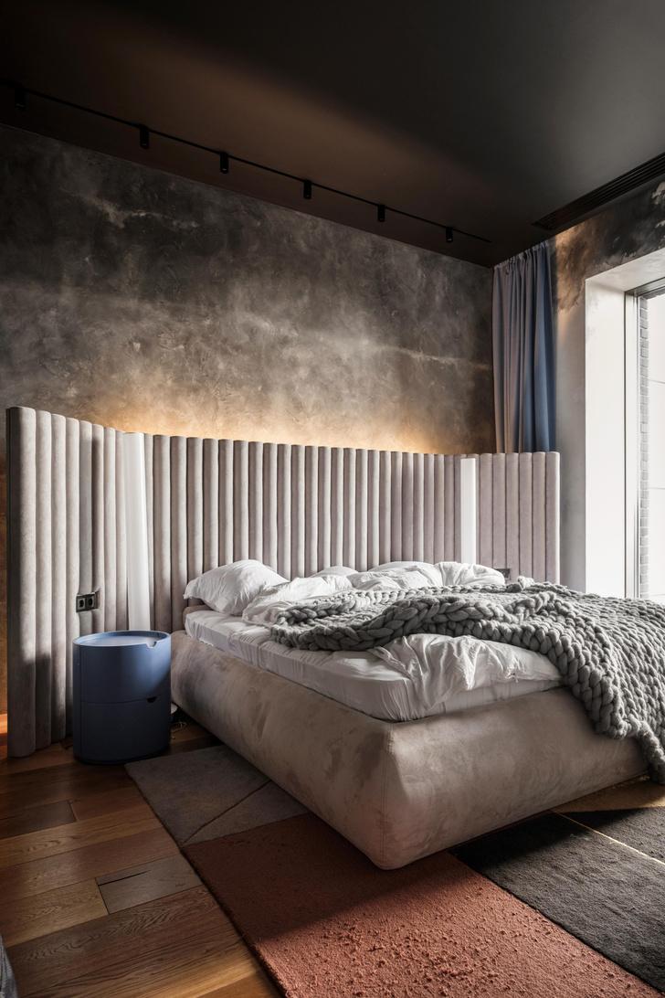 Фото №9 - Квартира 136 м² с бетонным потолком в Москве