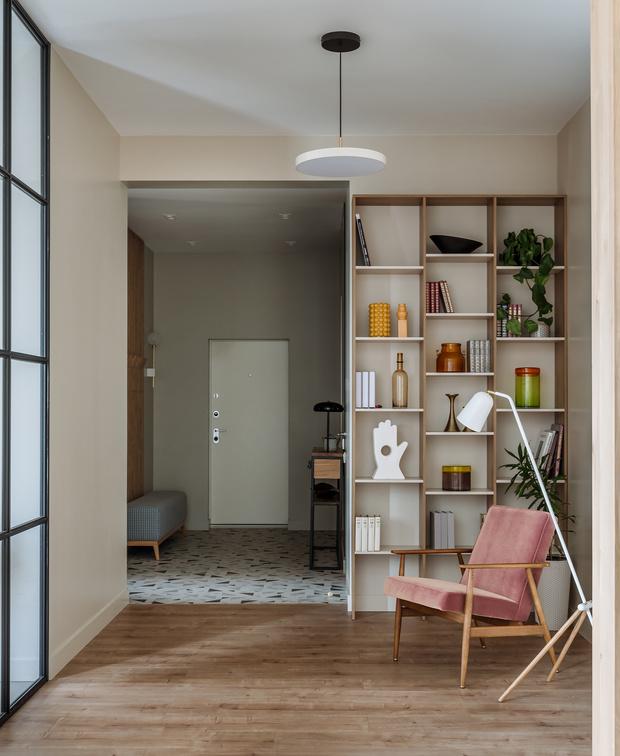 Фото №1 - Московская квартира 130 м² в пастельных тонах