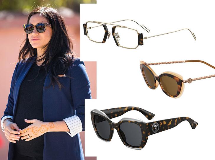 Фото №4 - Какие солнцезащитные очки носят актрисы, дизайнеры и монаршие особы