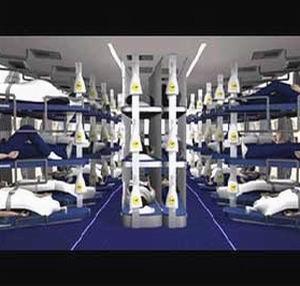 Фото №1 - Lufthanza предложит пассажирам поспать с комфортом