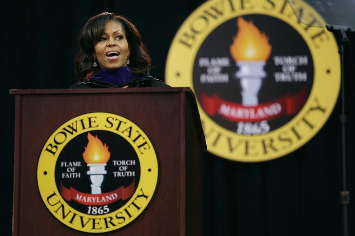 Мишель Обама, Государственный университет Боуи
