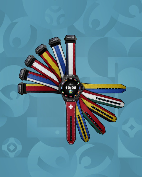 Фото №1 - К чемпионату Европу по футболу Hublot представил часы с флагами стран-участниц