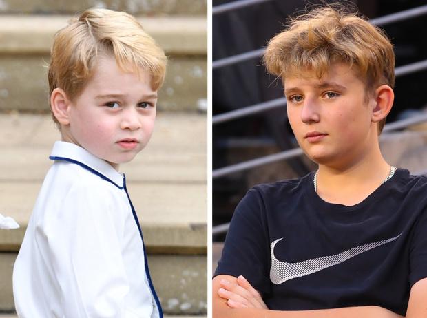 Фото №1 - Первые мальчики государства: что общего у принца Джорджа и Бэррона Трампа