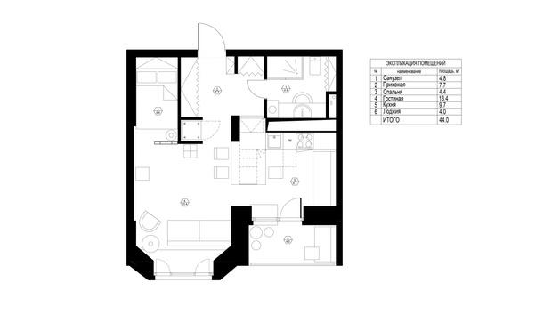 Фото №15 - Маленькая квартира в экостиле