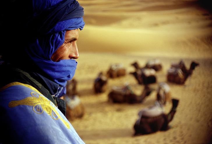 Фото №1 - Рабочий момент: капитан пустыни