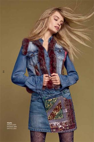 Фото №10 - Модная эклектика в новой осенне-зимней коллекции Desigual