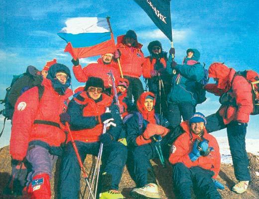 Фото №1 - По ледопаду — на Килиманджаро