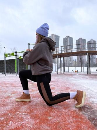 занятия спортом зимой на улице