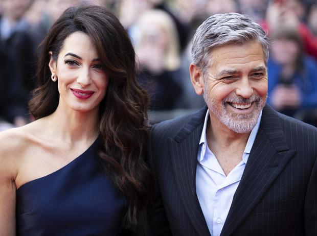 Фото №1 - Круче Бекхэмов: как Джордж и Амаль Клуни стали самой влиятельной парой в мире