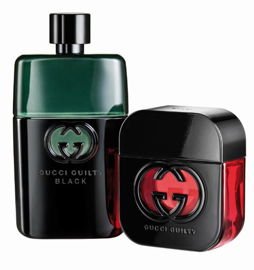 Парные ароматы для него и для нее Guilty Black, Gucci