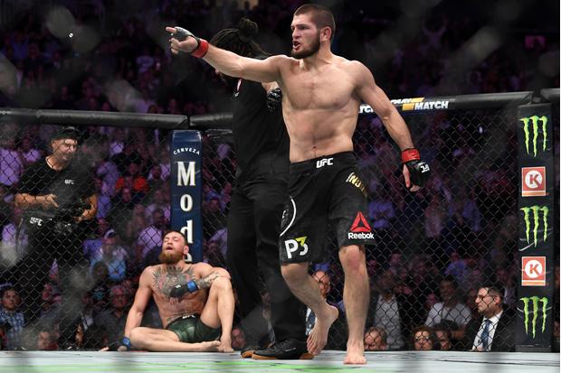 Фото №1 - Лучшие бои Хабиба Нурмагомедова в UFC: видео