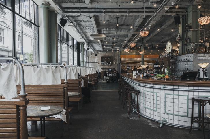 Фото №2 - Ресторан в универмаге XIX века в Лондоне