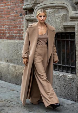 Фото №6 - С чем носить бежевое пальто: модные идеи на любой случай