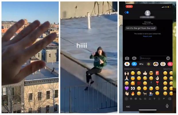 Фото №1 - Видео парня, который из карантина вживую познакомился с девушкой, посмотрели 30 миллионов раз