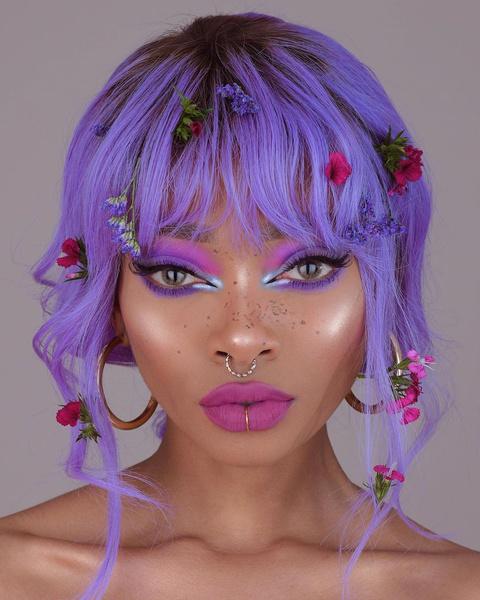 Фото №1 - Фантазийный макияж: 5 идей для яркого летнего образа