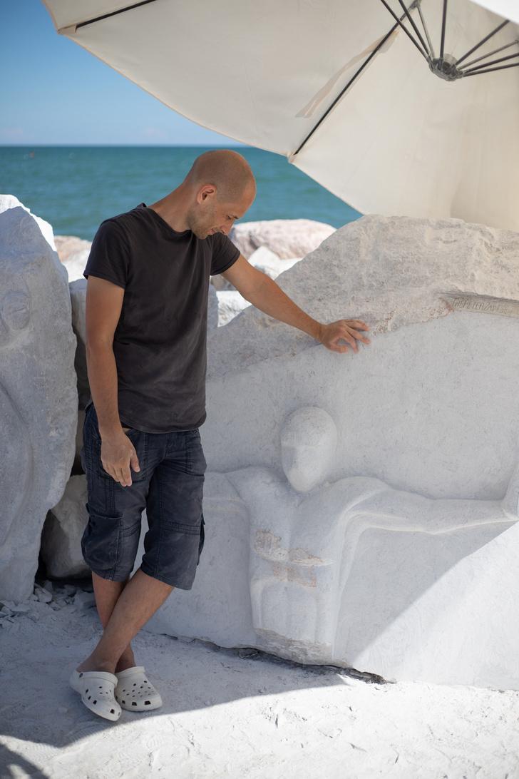Фото №5 - Российский скульптор Петр Зайцев— победитель Scogliera Viva в Италии