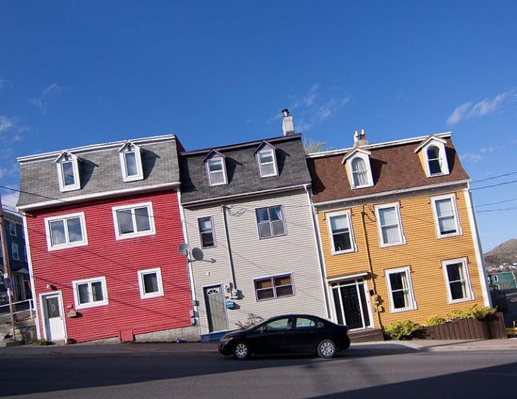 Фото №1 - Выпрямленные дома на наклонных улицах (галерея)