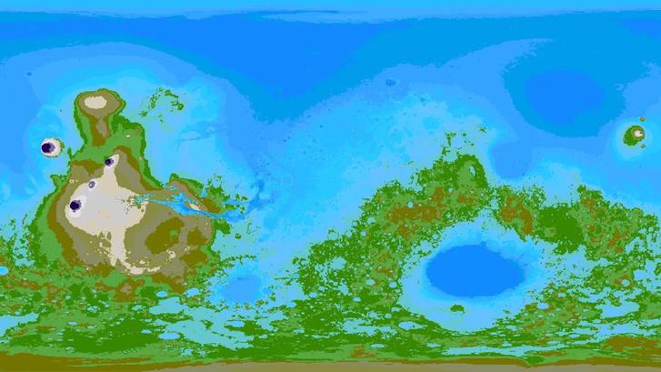 Фото №3 - 5 самых интересных карт Марса