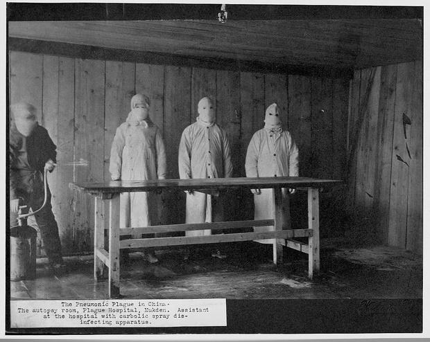 Китайский госпиталь, зима 1910–1911 гг.