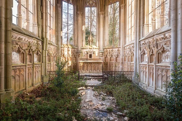 Фото №1 - Заброшенная церковь во Франции