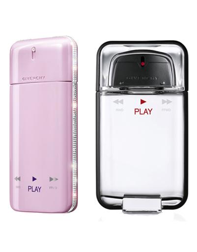 Парные ароматы для него и для нее Play, Givenchy
