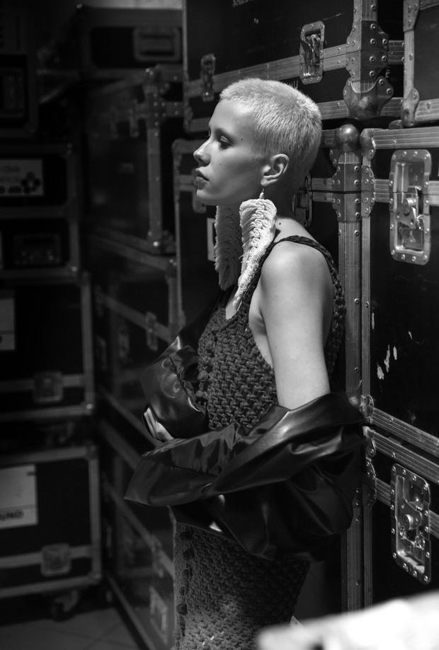Фото №12 - Магический бэкстейдж Mercedes-Benz Fashion Week Russia. День 4