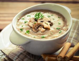 Сливочный суп, суп со сливками, рецепты супов