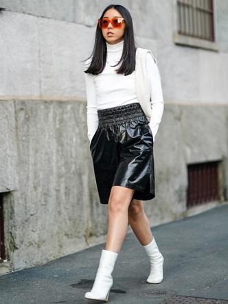 Фото №2 - Не только летом: как носить шорты в холодное время года