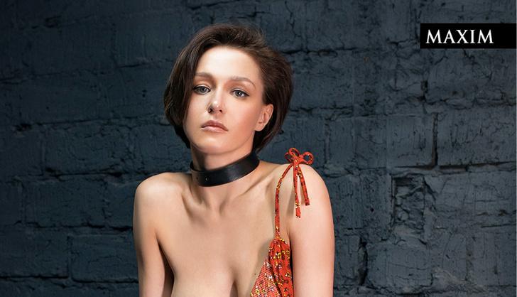 Фото №1 - Актриса Евгения Крегжде в MAXIM: пылко листаем ее фотографии и празднуем день рождения