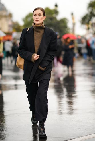 Фото №12 - С чем носить черный пиджак: 8 нескучных идей