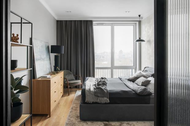 Фото №6 - Светлая квартира с большой гостиной в Москве