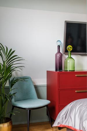 Фото №7 - Всплеск цвета: яркая квартира 81,6 м²