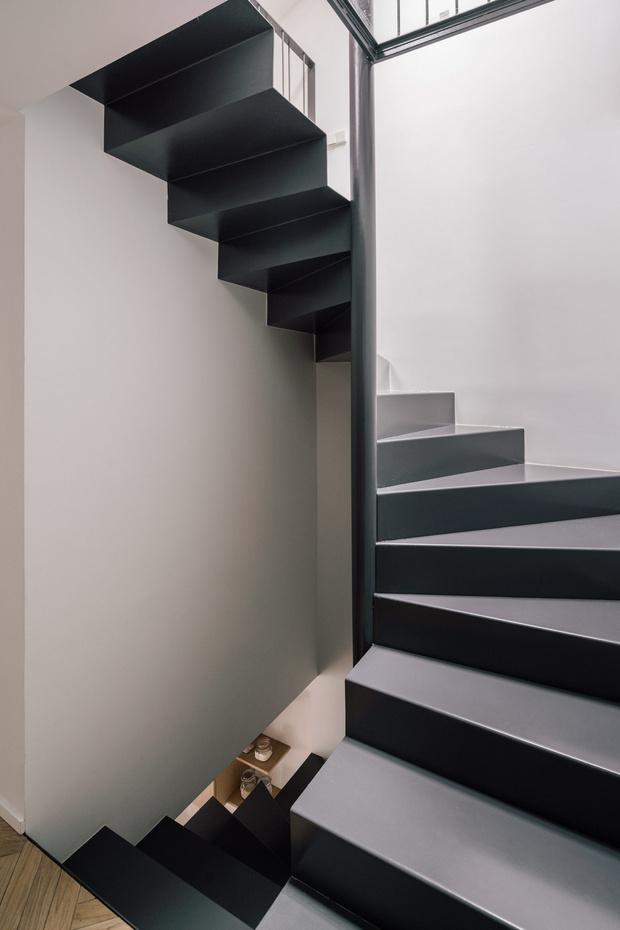 Фото №6 - Дом с двухэтажной библиотекой в Мадриде