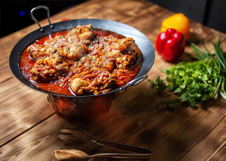 Фото №2 - Чахохбили из курицы: классический рецепт