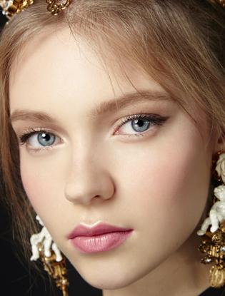Фото №2 - Макияж с показа Dolce & Gabbana