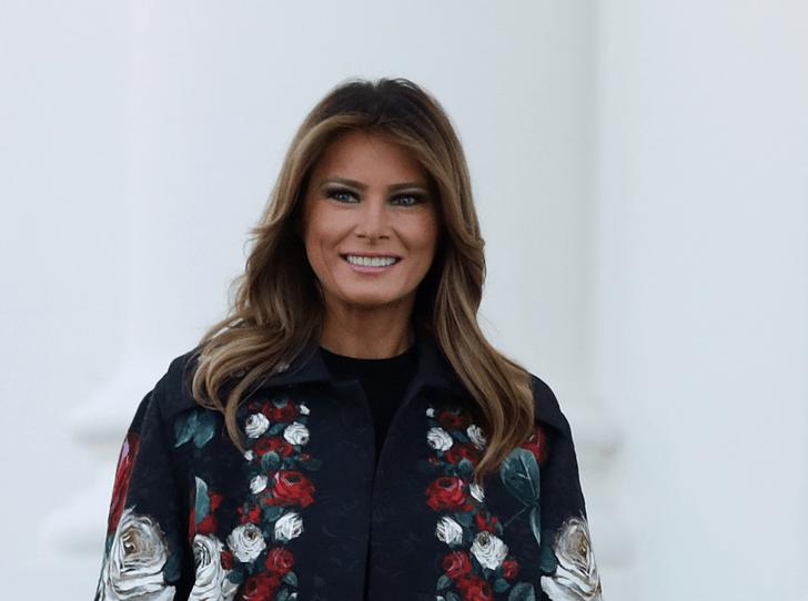 Фото №1 - Дух Америки: Мелания Трамп показала, как украсила Белый дом к Рождеству