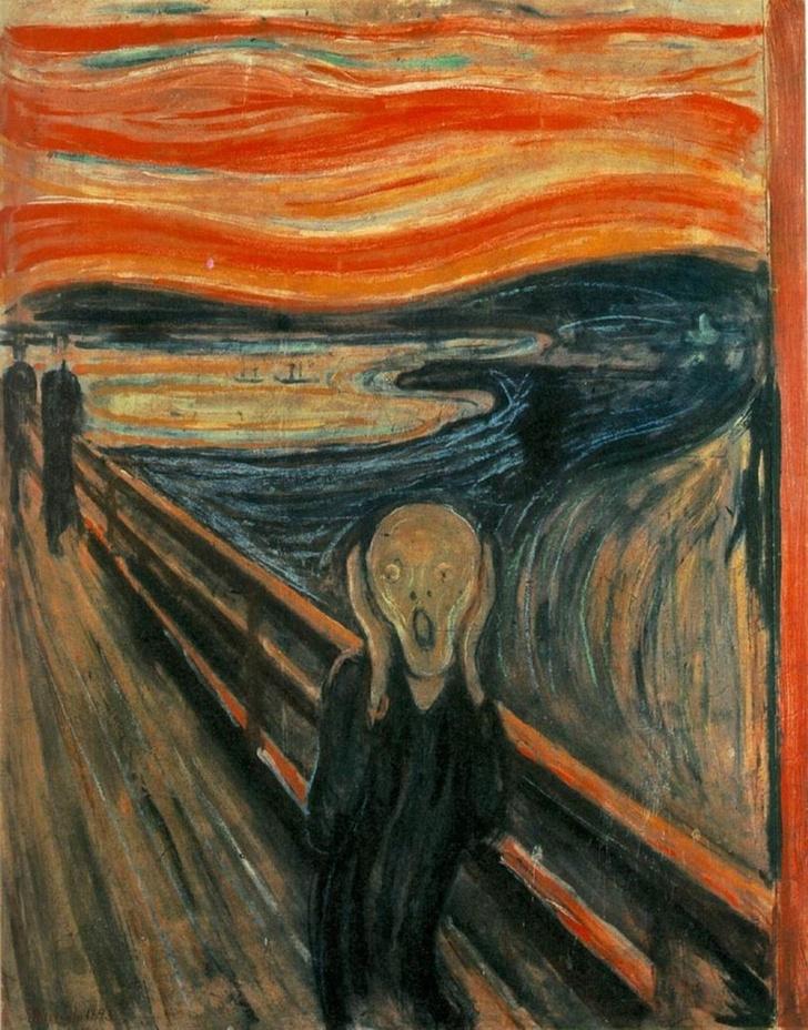 Фото №1 - Разгадана тайна надписи на картине «Крик»