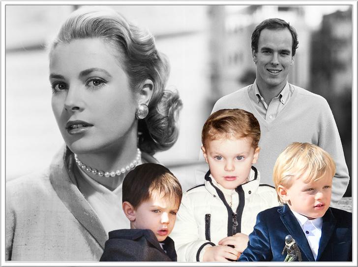 Фото №1 - Сильные гены: как выглядят потомки принцессы Монако Грейс Келли