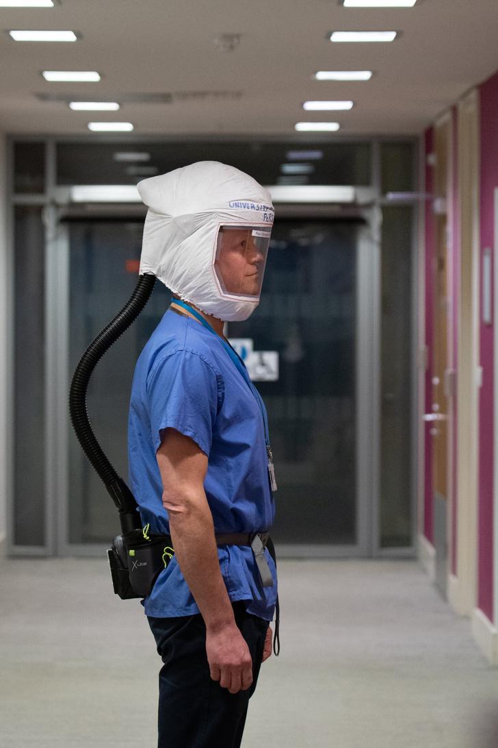 Защитный антивирусный костюм от разработчиков McLaren Group