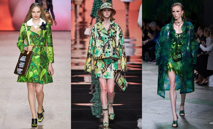 Louis Vuitton, Fendi, Versace