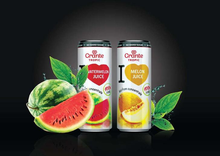 Фото №5 - Grante выпустил линейку экзотических 100% соков Tropic для всех, кто мечтал о кокосовом молоке и воде из тропиков!