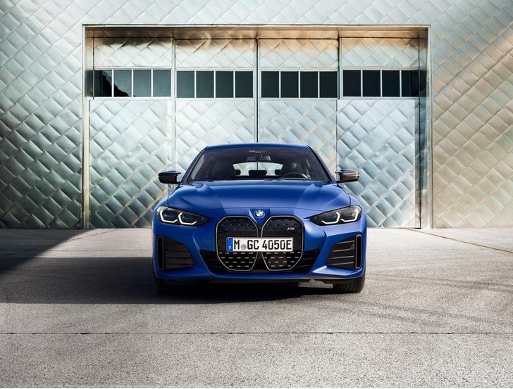 Фото №4 - Новый электрический BMW: симпатичные ноздри и музыка для пешеходов